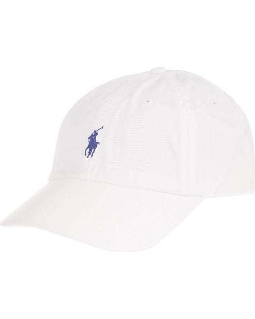 Polo Ralph Lauren - White Classic Pony Baseball Cap for Men - Lyst