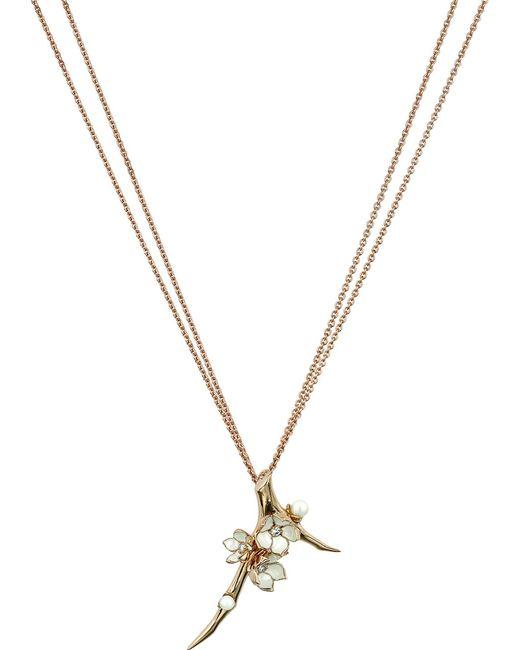 Shaun Leane - Metallic Cherry Blossom Rose-gold Vermeil - Lyst