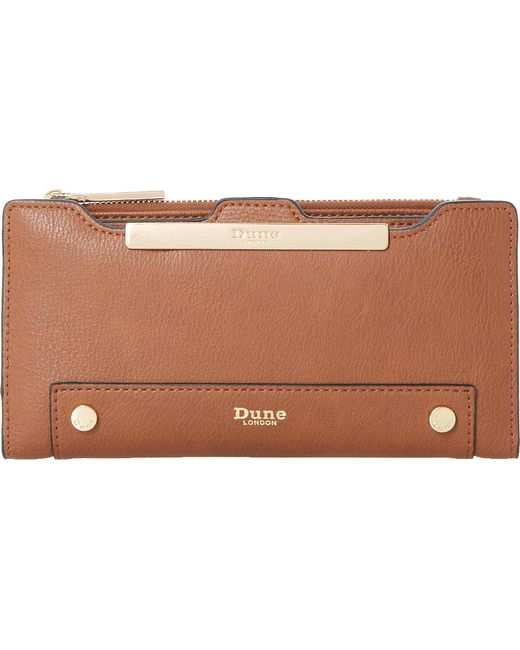 Dune | Brown Kessica Leather-look Purse | Lyst