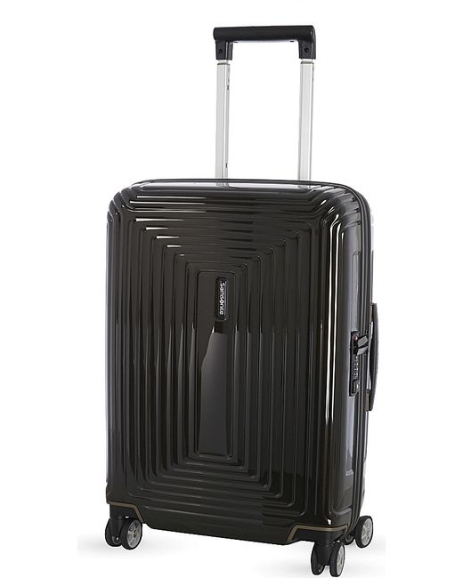 Samsonite | Black Neopulse Four-wheel Spinner Suitcase 55cm for Men | Lyst