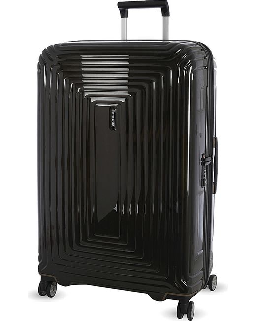 Samsonite | Black Neopulse Four-wheel Spinner Suitcase 81cm for Men | Lyst