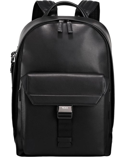 Tumi - Black Morrison Leather Backpack - Lyst