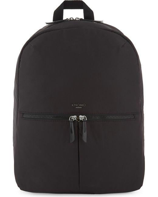 """Knomo - Black Berlin 15"""" Laptop Backpack - Lyst"""