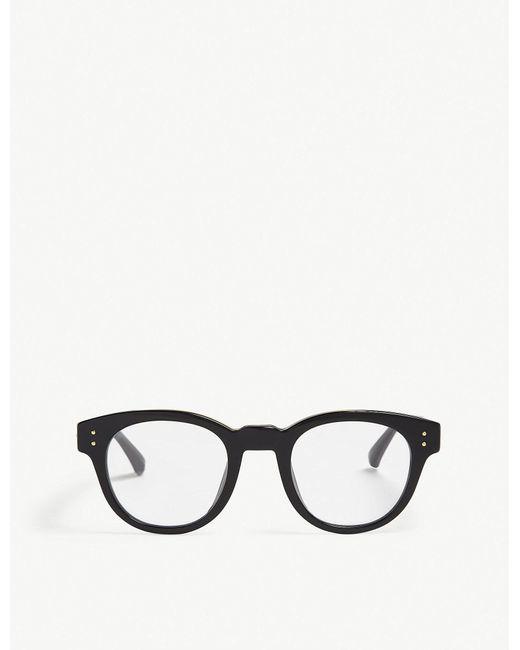 Linda Farrow - Black Lfl598 D-frame Glasses - Lyst