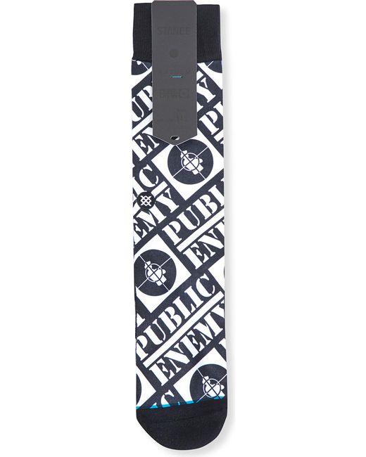 Stance | Blue Public Enemy Cotton-blend Socks for Men | Lyst