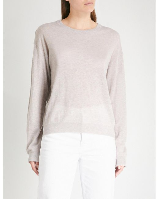 Zadig & Voltaire - Multicolor Marled Cashmere Jumper - Lyst