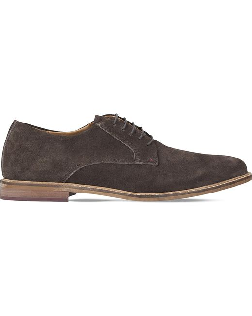 Kurt Geiger | Brown Donald Suede Derbies for Men | Lyst