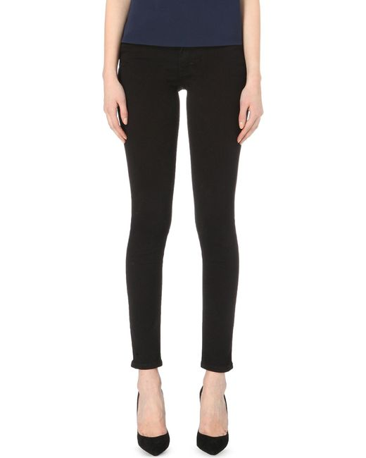 French Connection | Black Rebound Skinny Jeans | Lyst