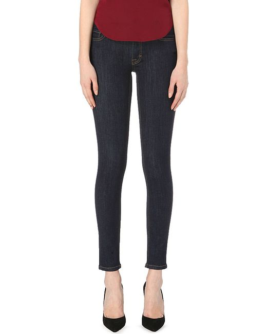 French Connection | Blue Rebound Skinny Jeans | Lyst