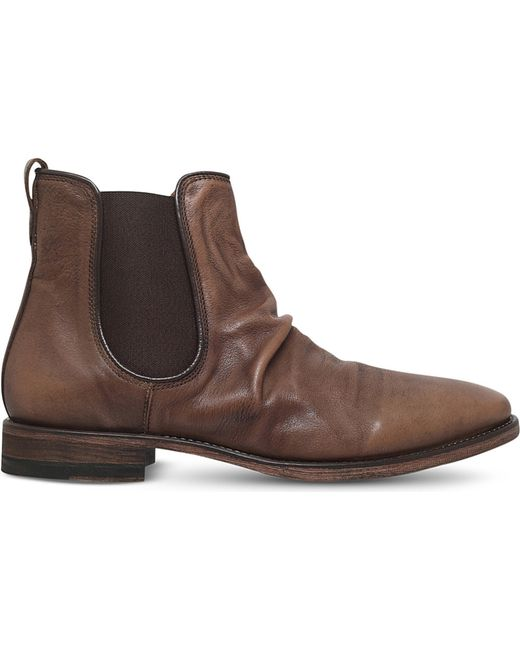 Sharpei Leather Chelsea Boots In Brown For Men Brown Lyst