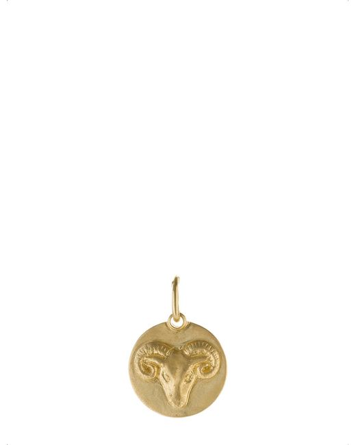 Annoushka - Aries 18ct Yellow Gold Pendant - Lyst