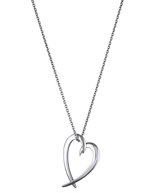 Shaun Leane - Metallic Heart Sterling Silver Pendant - Lyst