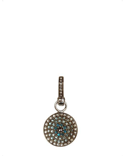 Annoushka | Metallic Mythology Serenity Evil Eye 18ct White-gold And Diamonds Amulet Pendant | Lyst