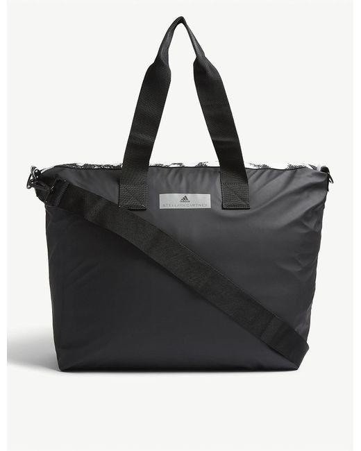 f50ecfc305 Lyst - adidas By Stella McCartney Small Studio Bag in Black