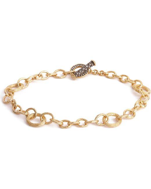 Annoushka | Metallic Mythology 18ct Yellow Gold And Diamond Bracelet | Lyst