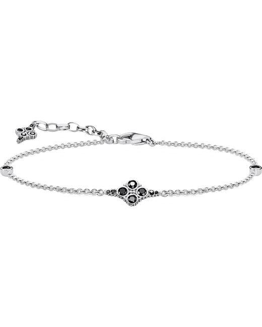 Thomas Sabo | Royal Black Sterling Silver Bracelet | Lyst