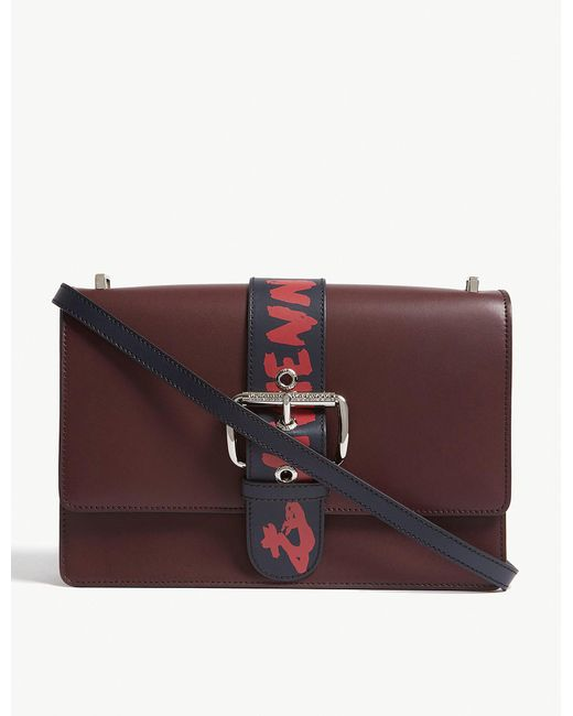 Vivienne Westwood - Red Alex Leather Cross-body Bag - Lyst