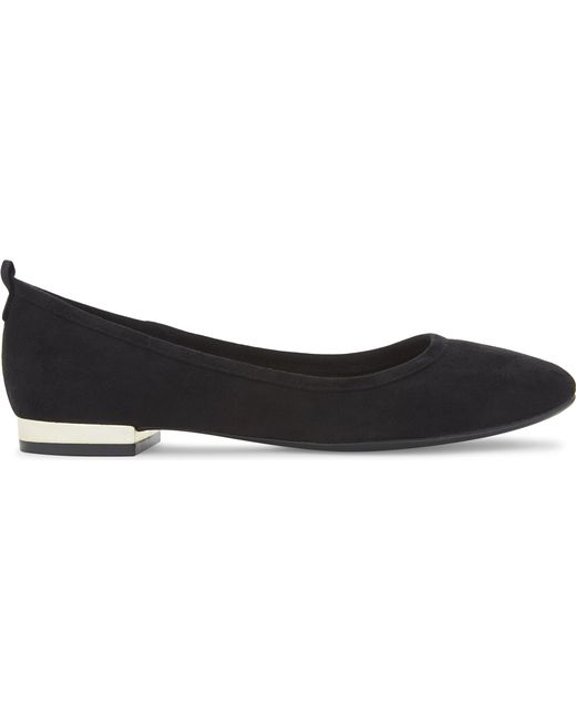 ALDO - Black Kaye Suede Ballet Flats - Lyst