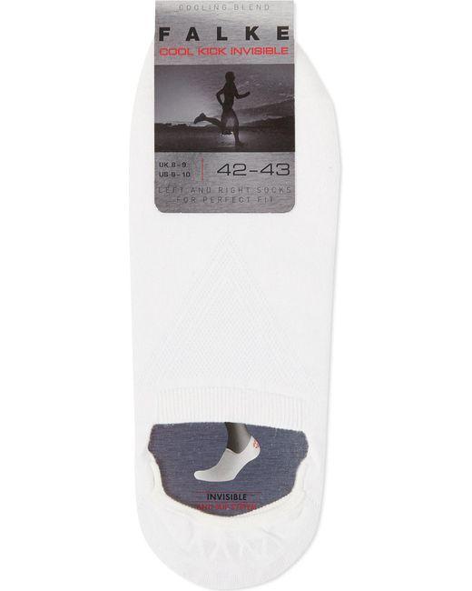 Falke - White Cool Kick Invisible Socks for Men - Lyst