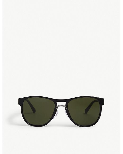 f94fb9fb898 Lyst - Prada Womens Black Pr5520 Redux Round-frame Sunglasses in Black