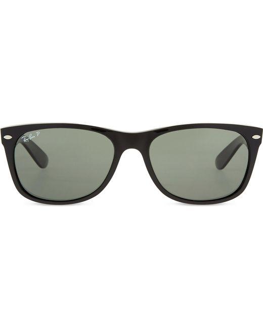 ff3afe87d3 Lyst - Ray-Ban Rb2132 New Wayfarer Classic Sunglasses in Black