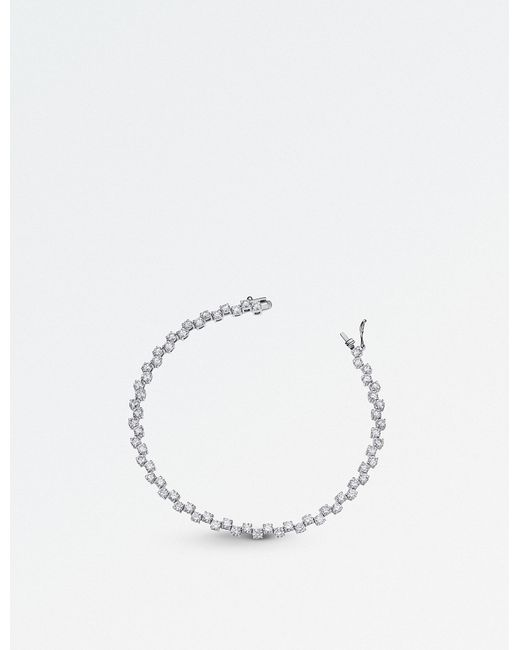 BUCHERER JEWELLERY - 18ct White-gold Diamond Bracelet - Lyst