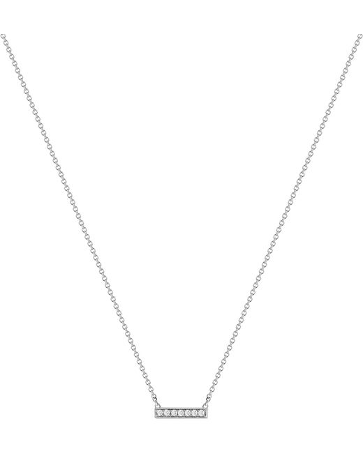 The Alkemistry - Metallic 14ct White-gold And Diamond Necklace - Lyst