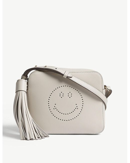 Anya Hindmarch - Multicolor Smiley Leather Cross-body Bag - Lyst
