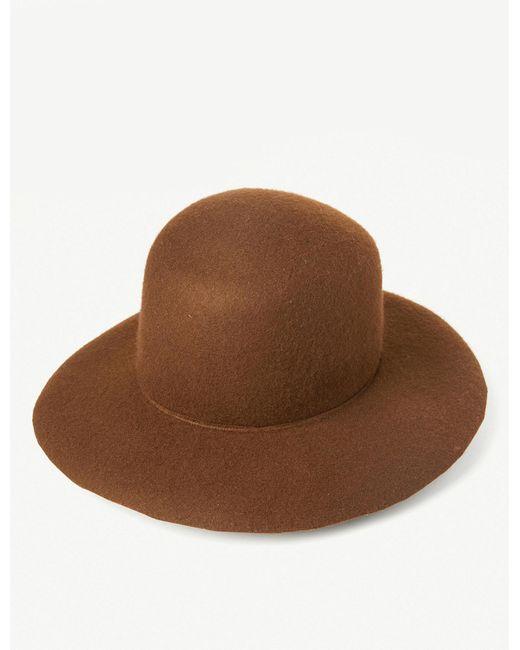 Albertus Swanepoel - Brown Salome Felt Prairie Hat - Lyst