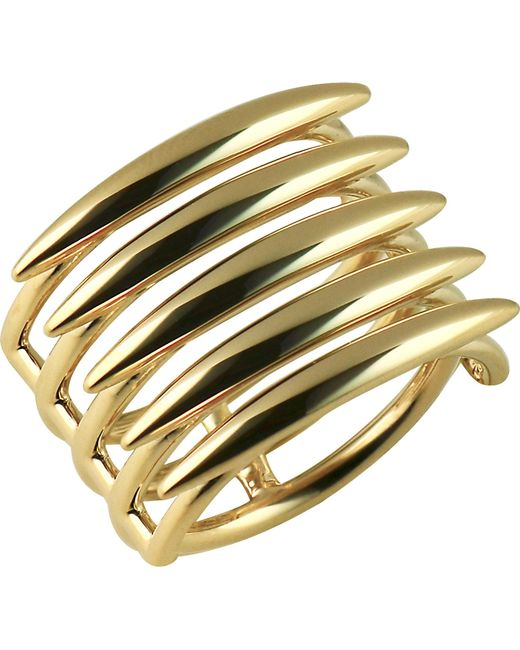 Shaun Leane | Metallic Quill Gold Vermeil Sterling Silver Ring (small) | Lyst