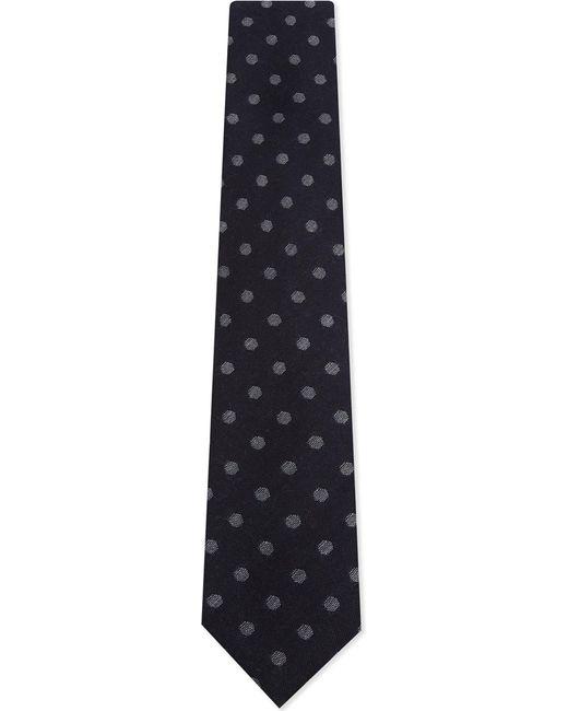 Corneliani | Blue Mens Knitted Luxury Spot Wool-silk Tie for Men | Lyst