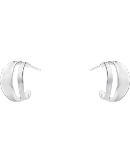 Georg Jensen | Metallic Marcia Sterling Silver Earrings | Lyst