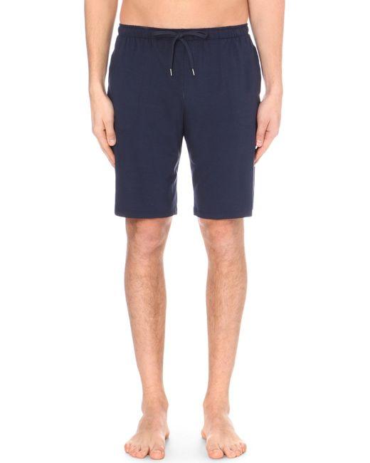 Derek Rose | Blue Basel Jersey Shorts for Men | Lyst