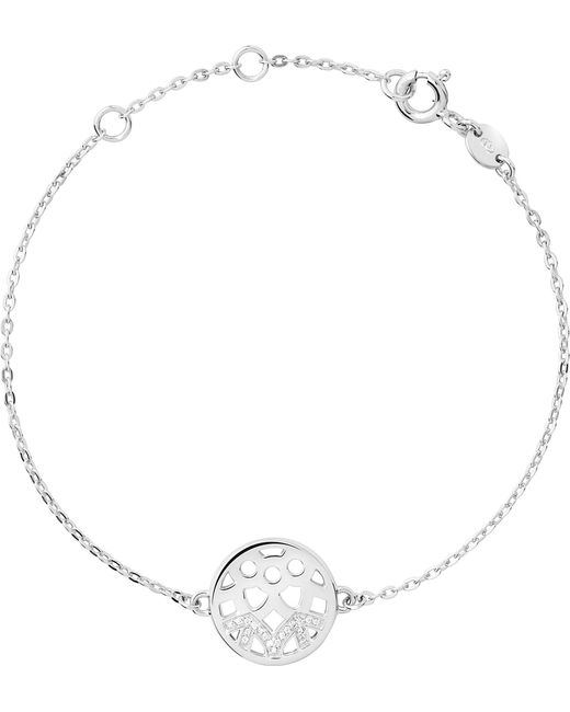 Links of London | Metallic Timeless Silver And Diamond Bracelet | Lyst