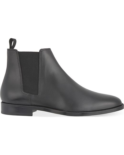 Sandro | Black Leather Chelsea Boots for Men | Lyst