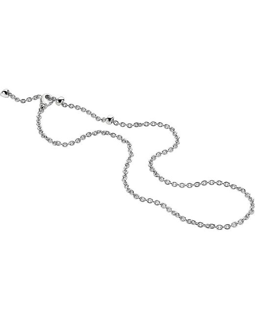BVLGARI | Metallic Catene 18kt White-gold Chain Necklace | Lyst