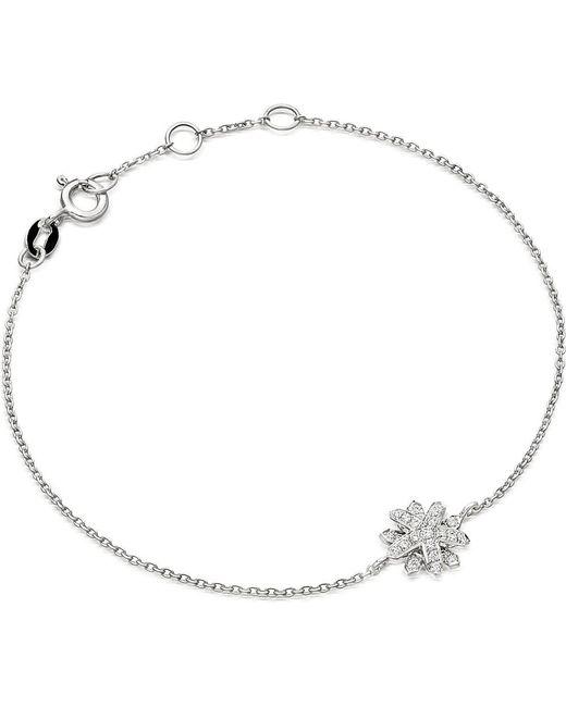 Astley Clarke | Metallic Starburst 18-carat White Gold And Diamond Bracelet | Lyst