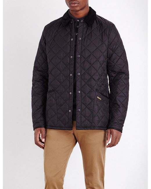 Barbour | Black Liddlesdale Quilted Shell Jacket for Men | Lyst