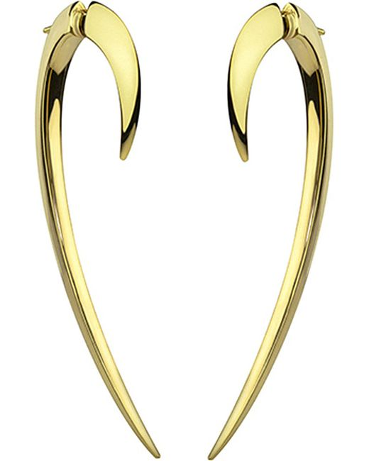 Shaun Leane | Signature 18ct Yellow-gold Hook Earrings | Lyst