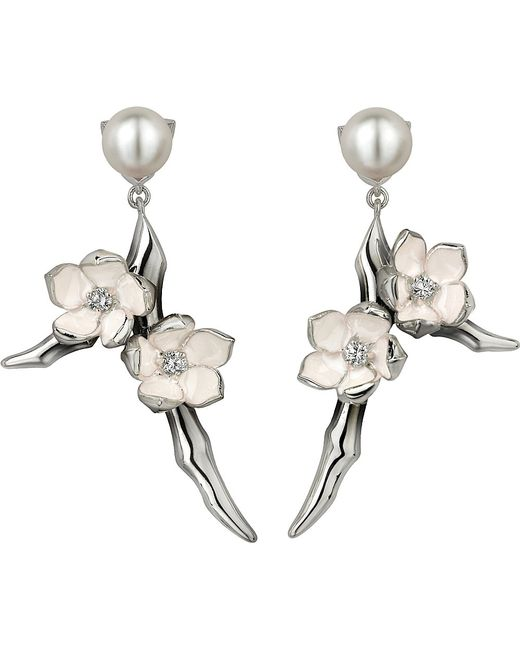 Shaun Leane | Metallic Cherry Blossom Sterling Silver | Lyst