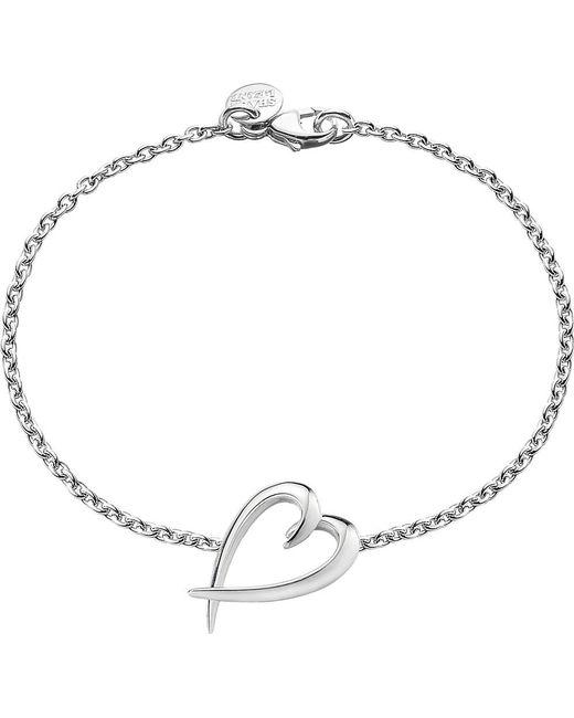 Shaun Leane | Metallic Signature Heart Sterling Silver Bracelet | Lyst