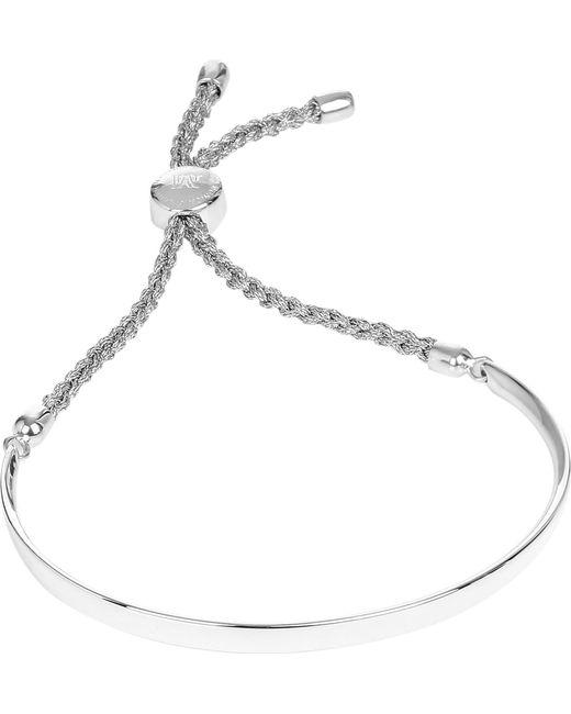 Monica Vinader | Metallic Fiji Sterling Silver Chain Bracelet | Lyst