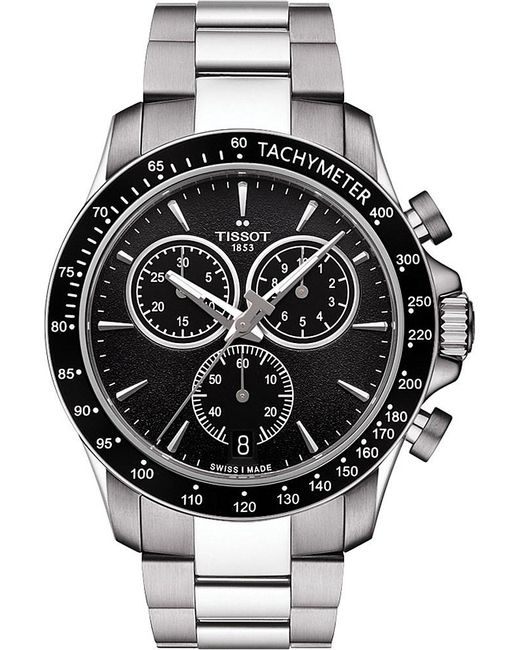 Tissot | Multicolor T106.417.11.051.00 V8 Stainless Steel Chronograph Watch for Men | Lyst
