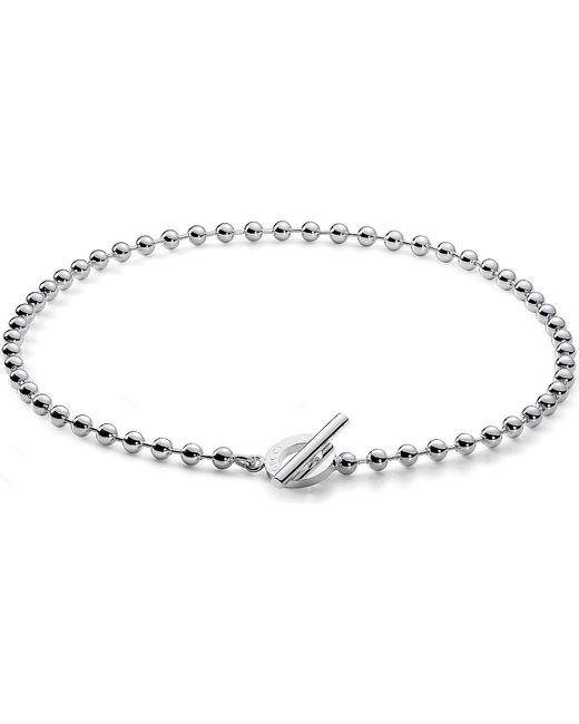 Gucci | Metallic Disc-motif Sterling Silver Necklace | Lyst
