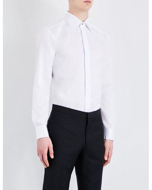Eton of Sweden | White Slim-fit Cotton Shirt for Men | Lyst