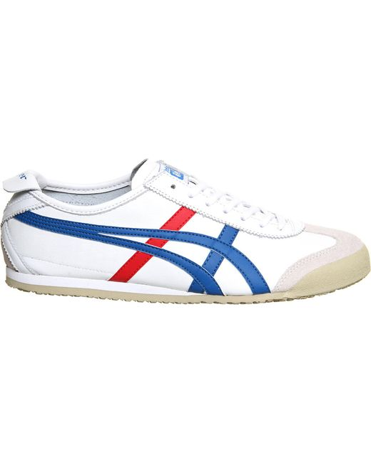 Onitsuka Tiger - Blue Mexico 66 Leather Trainers for Men - Lyst