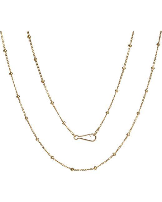Annoushka - Metallic Classic Saturn 18ct Yellow-gold Short Chain - Lyst