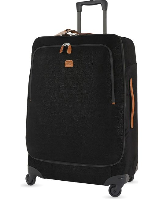 Bric's - Black Life Four-wheel Suitcase 77cm for Men - Lyst
