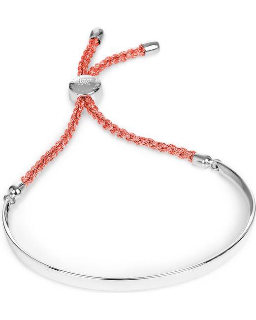 Monica Vinader | Multicolor Fiji Sterling Silver Friendship Bracelet | Lyst
