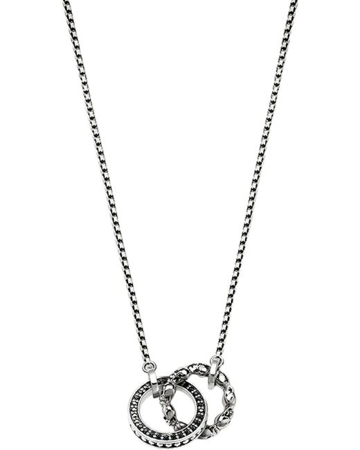 Thomas Sabo - Metallic Rebel At Heart Sterling Silver Necklace - Lyst